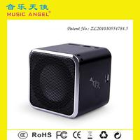 MUSIC ANGEL JH-MD07U download MP3 songs mini speaker with tf card slot for mp4 player
