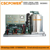 sf75 cscpower seawater Snow Flake Ice Machine 5000kg/24hours