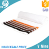 High quality microfiber reactive white color stripe beach towel