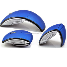 2.4GHz USB 2.0 Computer PC Cordless Foldable Folding Arc Optical Mice Mouse
