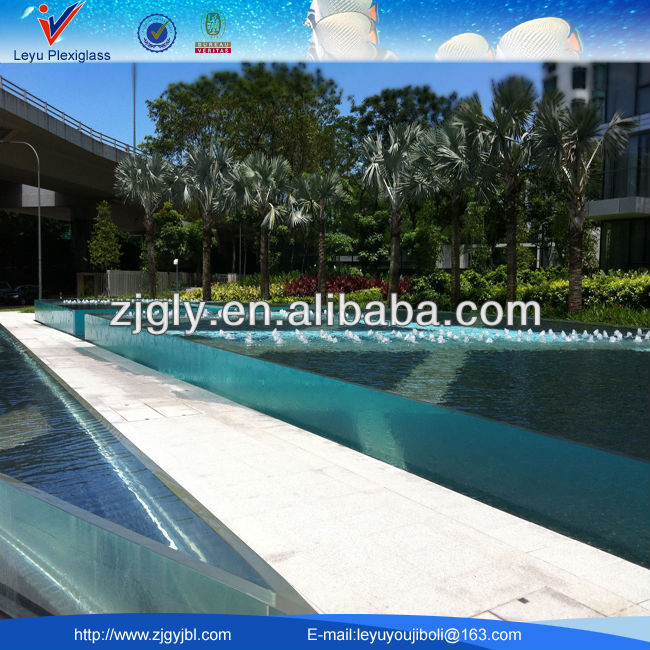 Hard Plastic Swimming Pool Acrylic Swimming Pool
