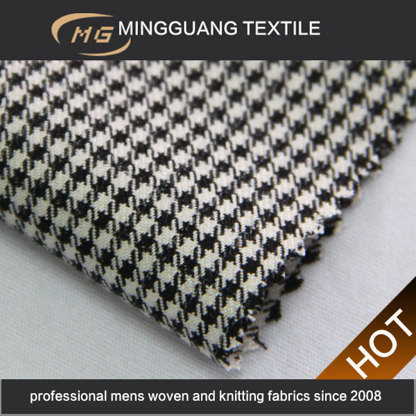 2014 new lady choundstooth design fabric china textile