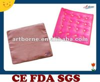 Massager cushion pink disc heat pad for hot compress/Hot selling heat pad(Xiamen Manufacturer with CE&FDA&MSDS)