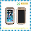 Retail Package Silicon Aluminum Gorilla Glass Waterproof Case for iPhone 6