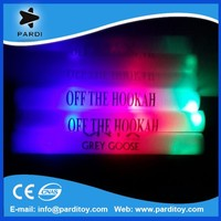 Custom led printed party flashing foam sticks