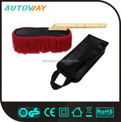 Hot Selling Cotton car duster with wooden handle
