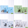 wholesale handled tote shopping carry bag gift bag with custom design