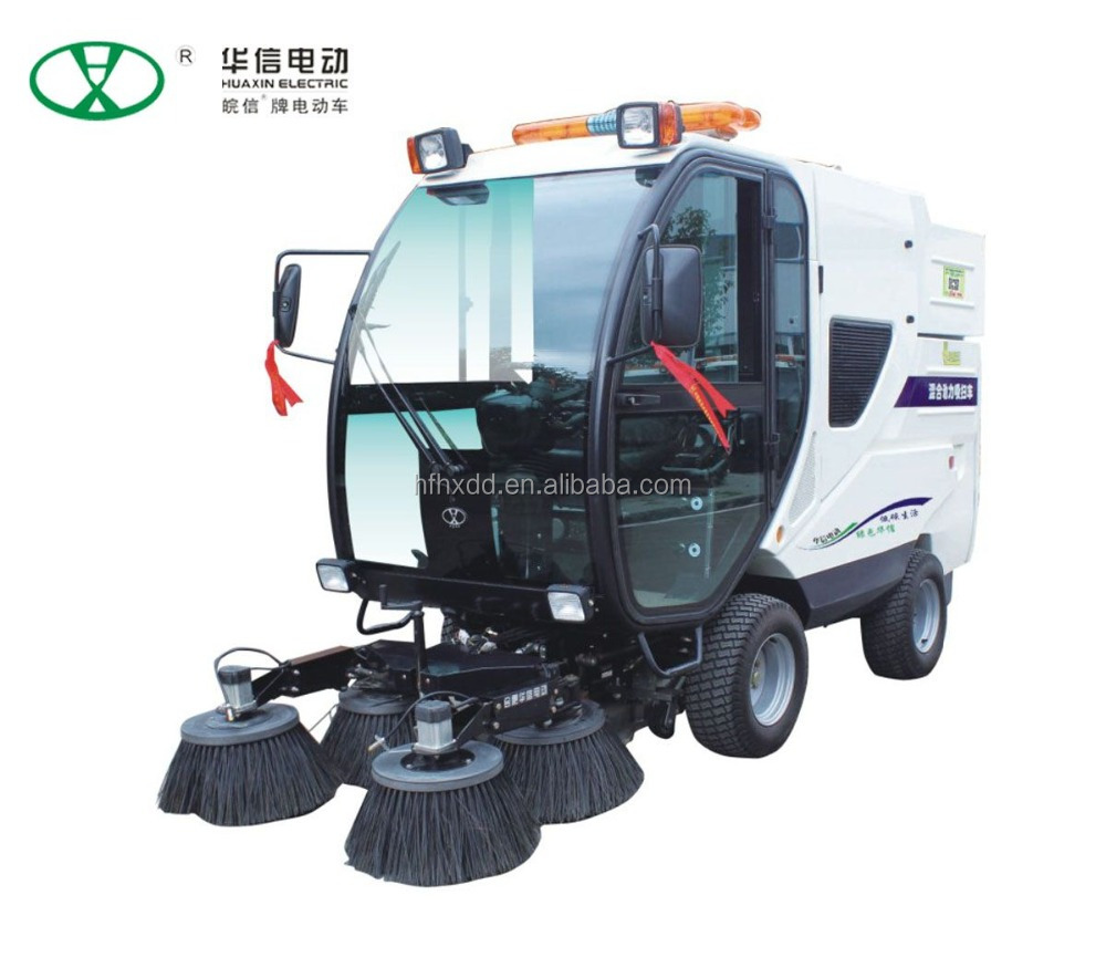 2016 new all closed road electric sweeper