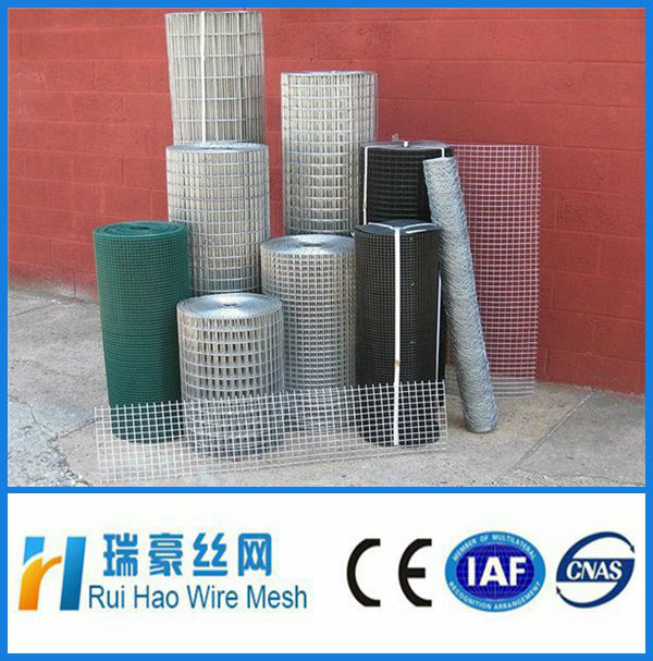 galvanized welded wire mesh/welding steel rebar