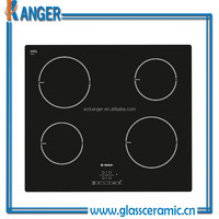 Cheap Black Glass-ceramic 4-Burners Induction Cook Top