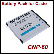 for Casio NP-60 lithium ion batteries