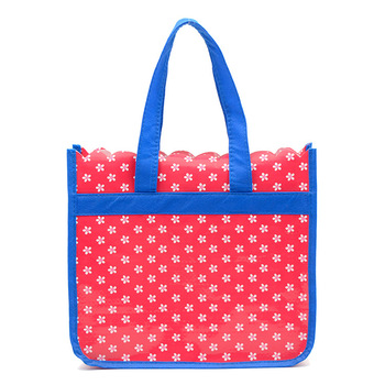 cheap pp woven laminated bag / New style shopping bag