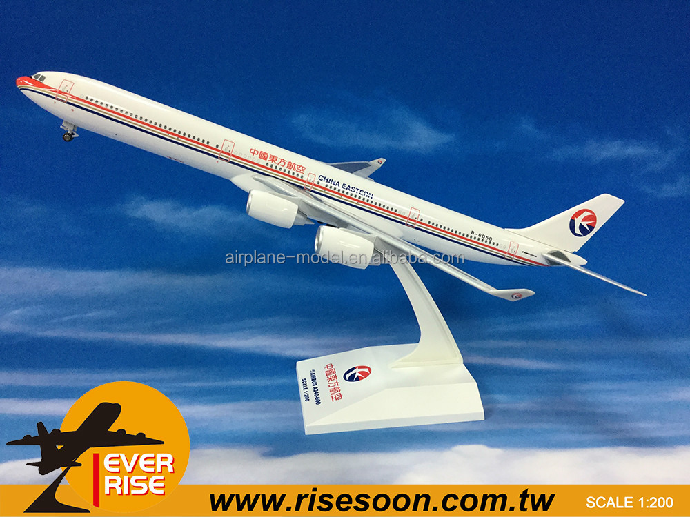 AIR BUS A340-600 CHINA EASTERN Plastic Aircraft models Scale 1:200