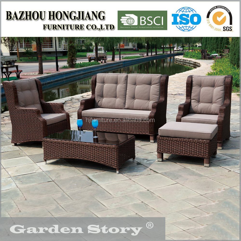 085S Garden Furniture Outdoor Rattan Outside Furniture