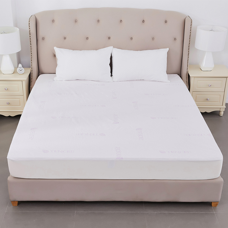 Premium Bedbug Proof 100% Tencel Jacquard Waterproof Mattress Protector For Hotel - Jozy Mattress | Jozy.net