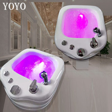 Wholesales Used Timeless Full Function acrylic material pedicure spa basin Y0-T086