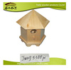 Best-selling wooden decorated bird house