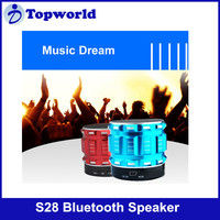 Hot!! S28 Support TF Card Built in Microphone Wireless Bluetooth Speaker with High Quality Sound Effect