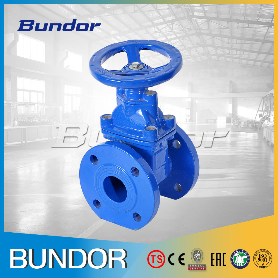 100mm cast iron cad drawings gate valve