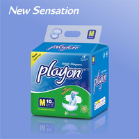 High absorbent senior adult diapers for export with color printed JA013