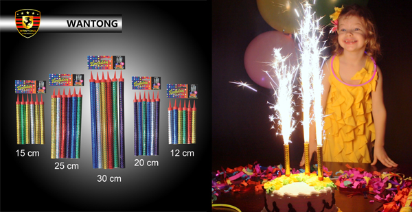 Magic wedding party indoor birthday cold flame cake firework ice fountain sparkler candles fireworks