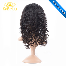 KBL short hair lace wig silk top