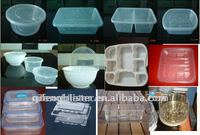 PET/PP/PS/PVC Food packaging box,disposable container,fruit preservation container