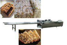 high quality cereal bar cutting machine(oatmeal bar, peanut brittle, grain bar and so on)