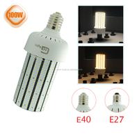 Ul listed ED28 400W metal halide retrofit LED light bulbs E39 mogul base 100W LED Corn Cob bulb