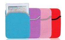 Soft Neoprene Laptop sleeves Case Pouch Bag cover for ipad 234 mini
