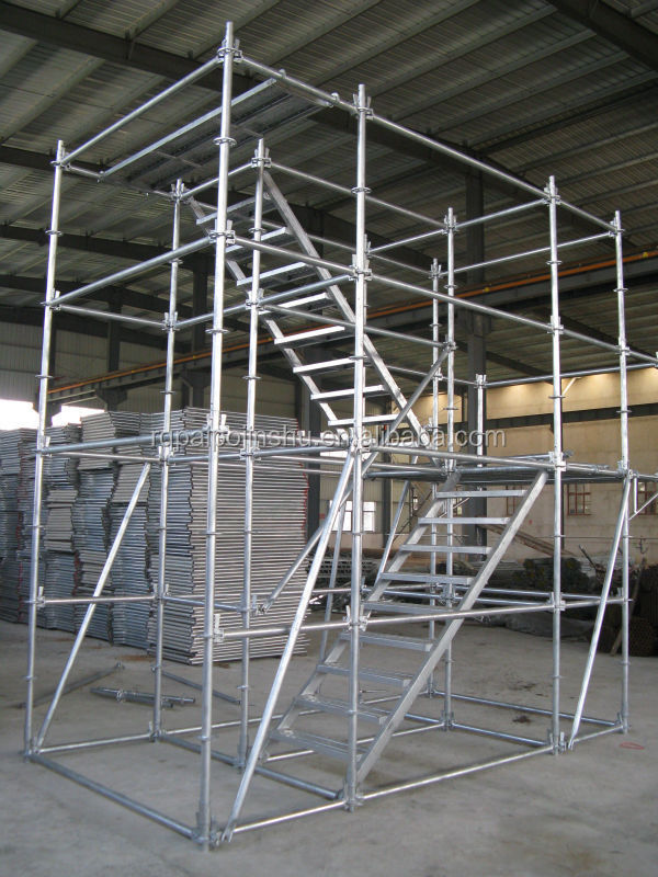 Australia AS1576 Pianted Hot dipped galvanized Layher allaround Scaffolding