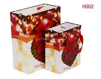 printed paper shopping bag/ recyclable shopping paper bags/ ladies fashion paper bags