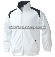 Men's casual sports lightweight Cool Dry white club jacket 2013 in Xiamen