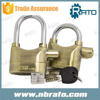 RP-127 brass top security alarm padlock