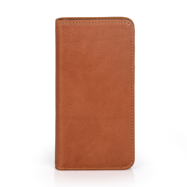 "4.7"" Cowhide leather flip cover wallet case for iphone 6 case"