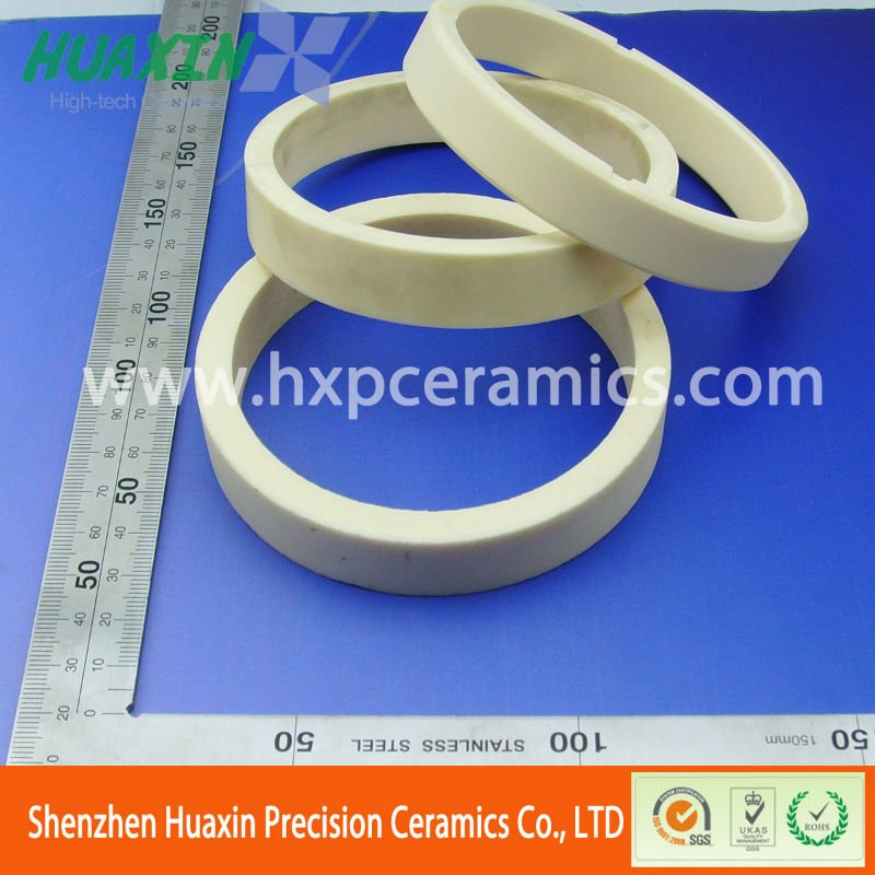 Quality-Assured alumina ceramic ring 99%/al2o3 washer/cycle