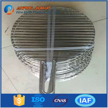 Stainless steel Korean solar bbq grill wire mesh,BBQ grill smoker wire mesh