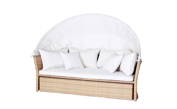 Comfortable cute wicker sofa classic wicker sofa