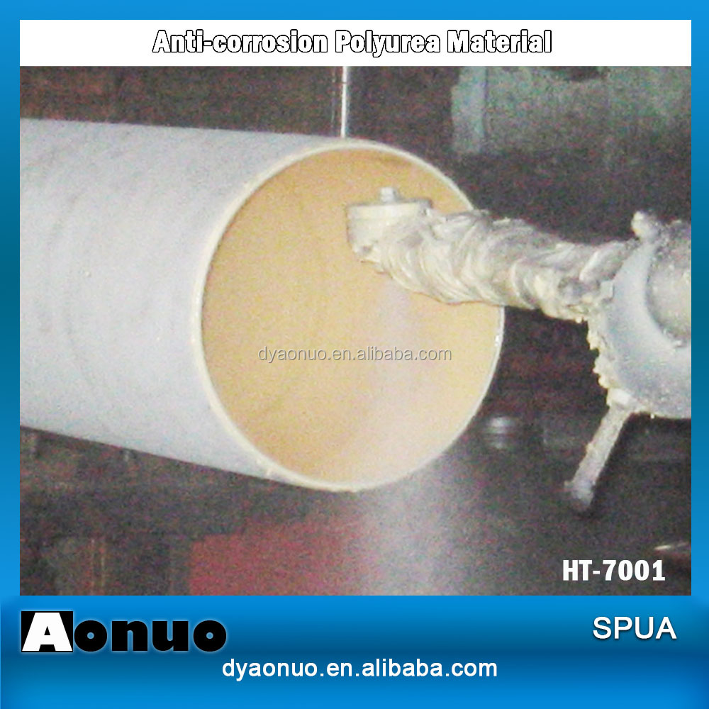 HT-7001-SF liquid Anti-corrosion Polyurea coatings for industrial use pipeline spray