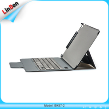2017 Magnetic leather case keyboard for ipad 9.7 inch new arrival case keyboard bluetooth