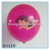cartoon characters helium balloon