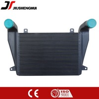 China car plate fin bar intercooler