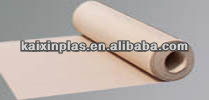 Natural color PTFE teflon glass fiber sheet for cooking / baking