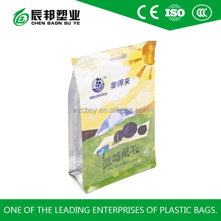 food grade plastic packing bag for candied fruit