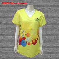 Hospital polyester patient suit/nurse suit/scrub suit