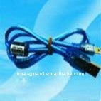 USB data cable for guard tour system