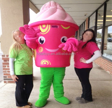 frozen yogurt mascotte/food mascot costume