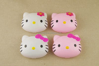 Lovely hello kitty color contact lens plastic storage box