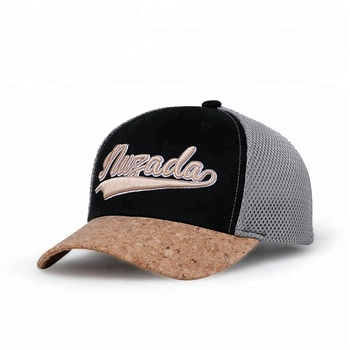 KaPin Breathable Cotton Mesh Material Letter Embroidered Stylish Soft Baseball Caps
