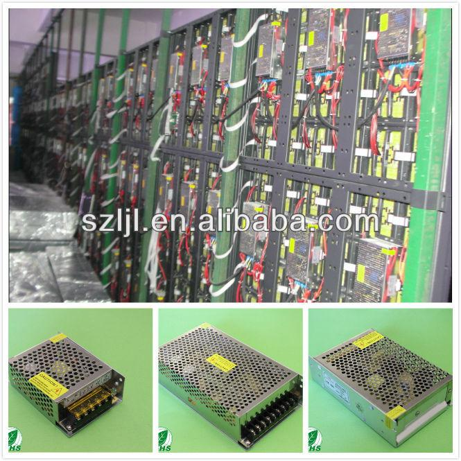 High Power 5V 70A 350W Switching Power Supply for LED Display(CE&RoHs Compliant)